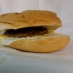sausage & egg breakfast sandwich